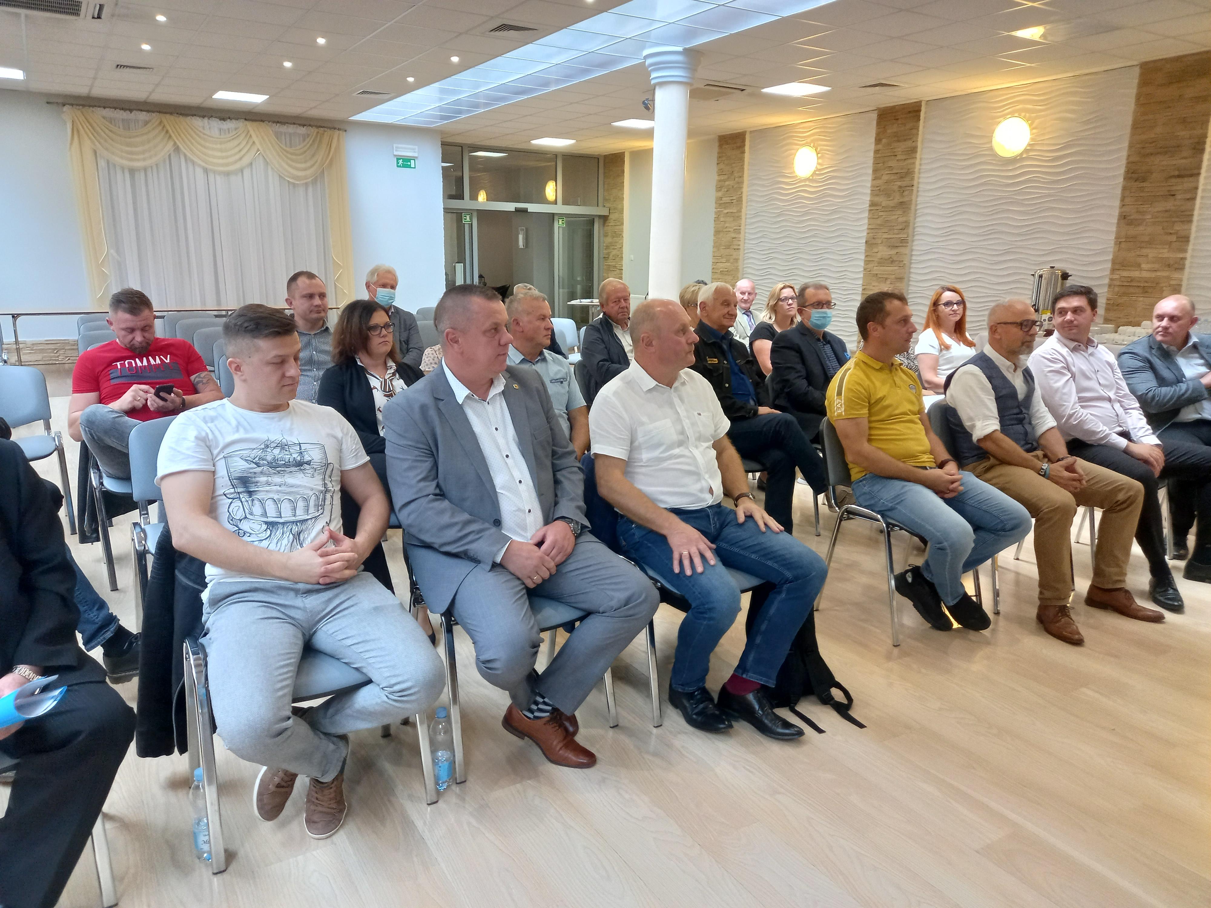 3 września 2021 r. Zarząd Powiatowy OBS zorganizował Walne Zebranie Sprawozdawcze.