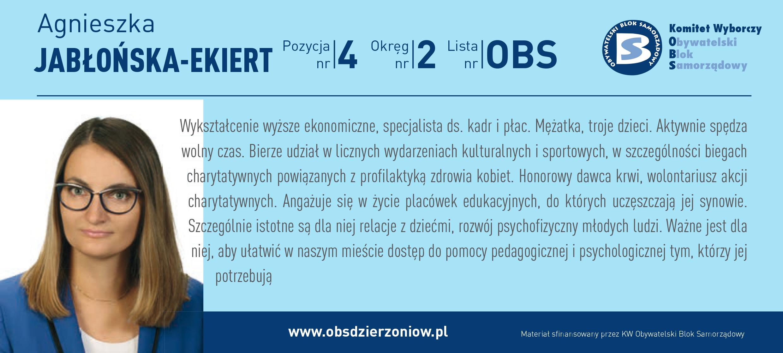OBS Dzierżoniów ulotka DL okręg 2 Jabłońska Ekiert kopia