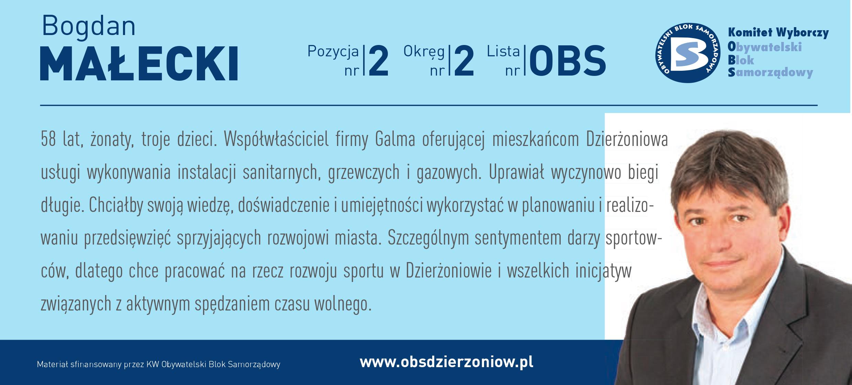 OBS Dzierżoniów ulotka DL okręg 2 Małecki kopia