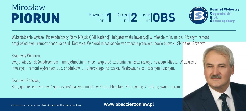 OBS Dzierżoniów ulotka DL okręg 2 Piorun kopia
