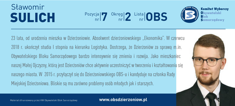 OBS Dzierżoniów ulotka DL okręg 2 Sulich kopia