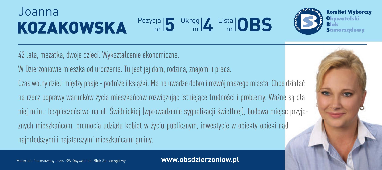 OBS Dzierżoniów ulotka DL okręg 4 Kozakowska kopia