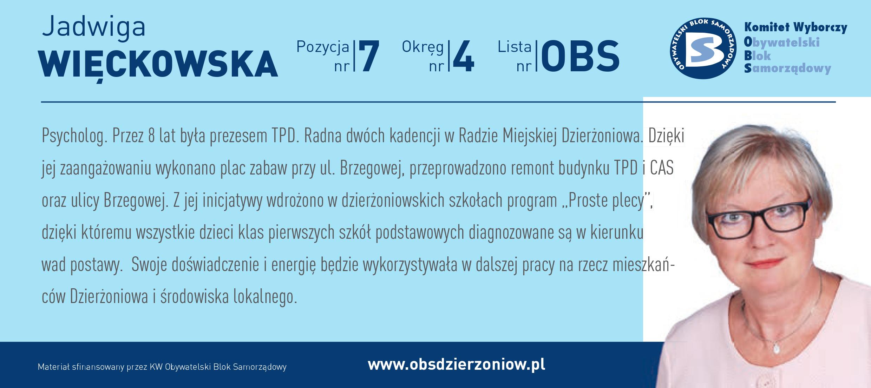 OBS Dzierżoniów ulotka DL okręg 4 Więckowska kopia