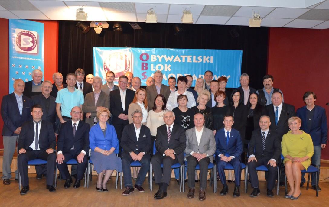 28 maja 2015 r. – Walne Zebranie Członków Obywatelski Blok Samorządowy.