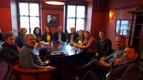 Zebranie członków Stowarzyszenia Obywatelski Blok Samorządowy