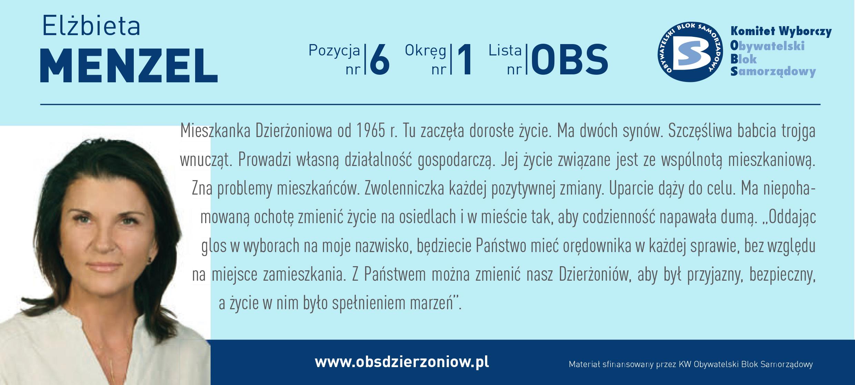 OBS Dzierżoniów ulotka DL okręg 1 Menzel kopia