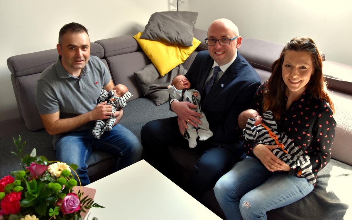 Gratulujemy potrójnego szczęścia Agnieszce i Piotrowi