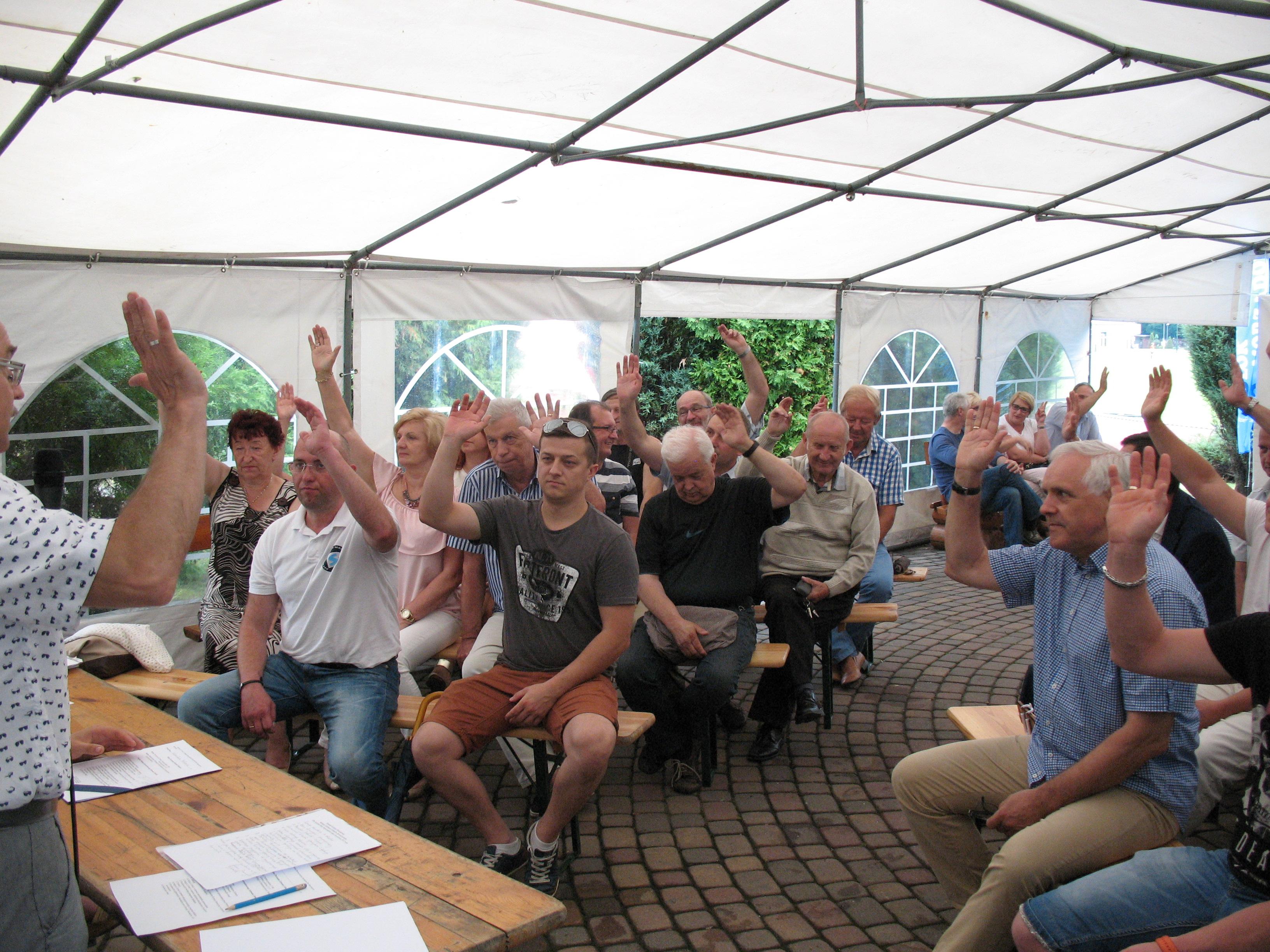 Zarząd Powiatowy OBS zorganizował Walne Zebranie Sprawozdawcze