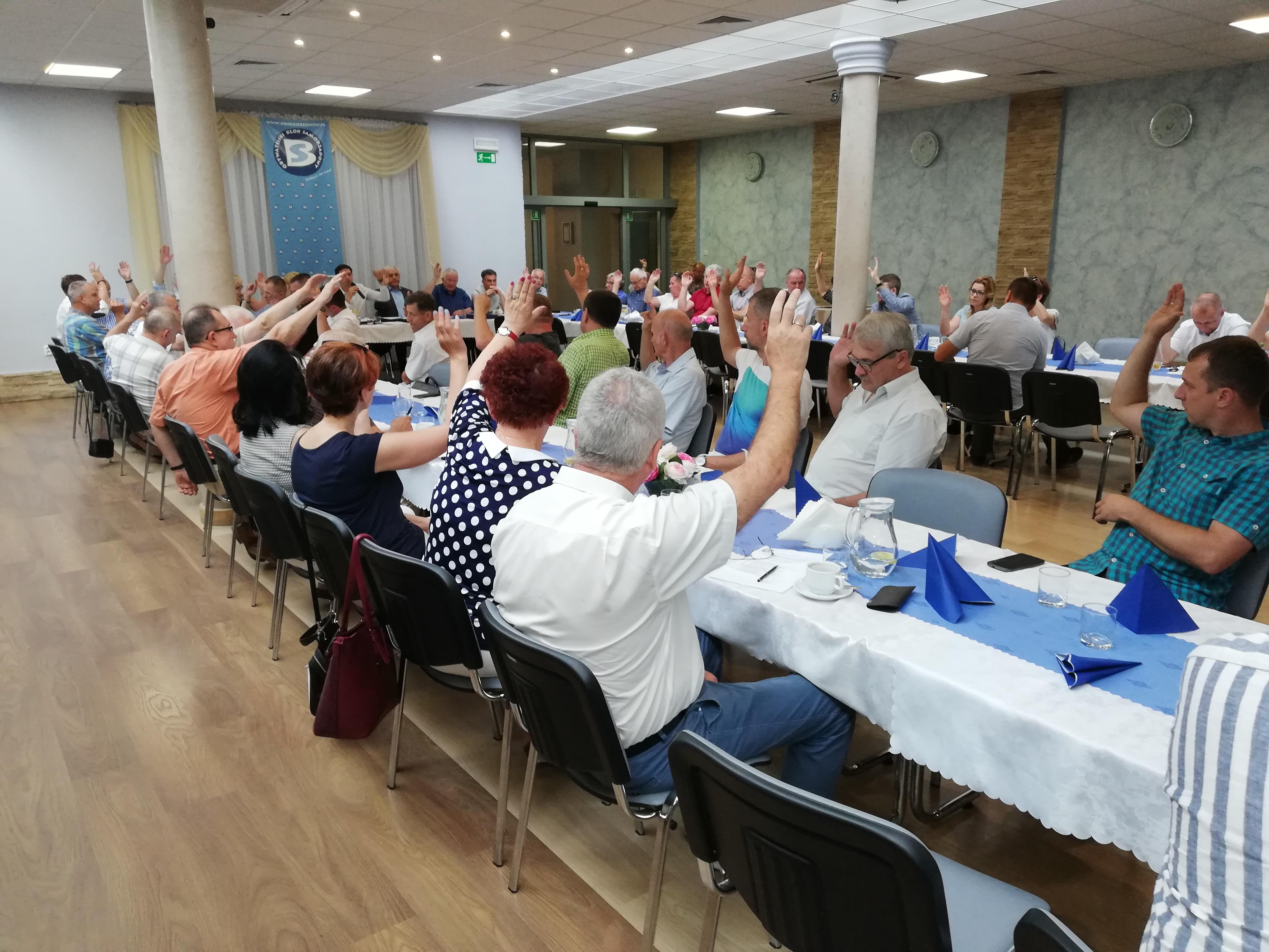 Walne Zebranie Sprawozdawczo-Wyborcze Członków Stowarzyszenia OBS